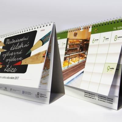 Kalendáře, knihy, skripta  - TWIN vazba